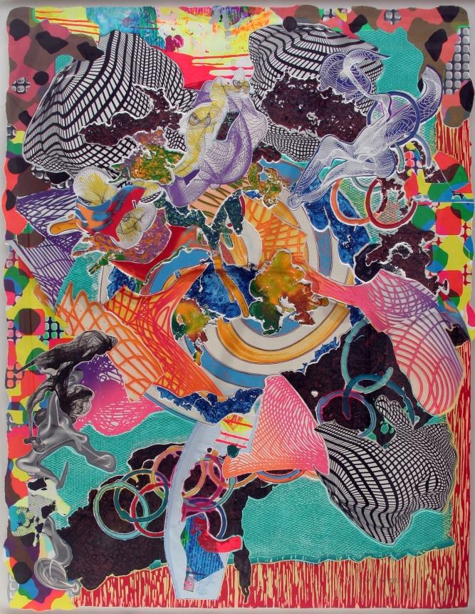 Frank Stella Print