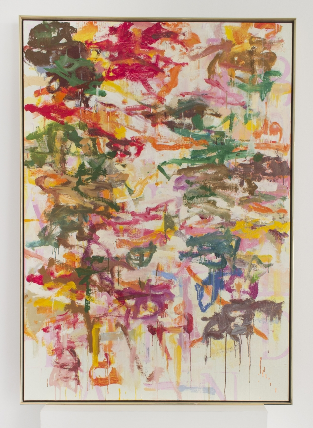Kikuo Saito, turkish sand, pink, joan mitchell