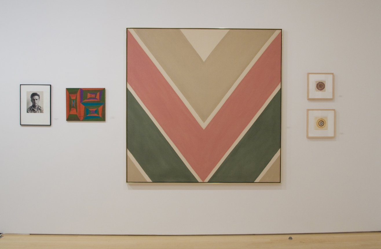 Kenneth Noland chevrons