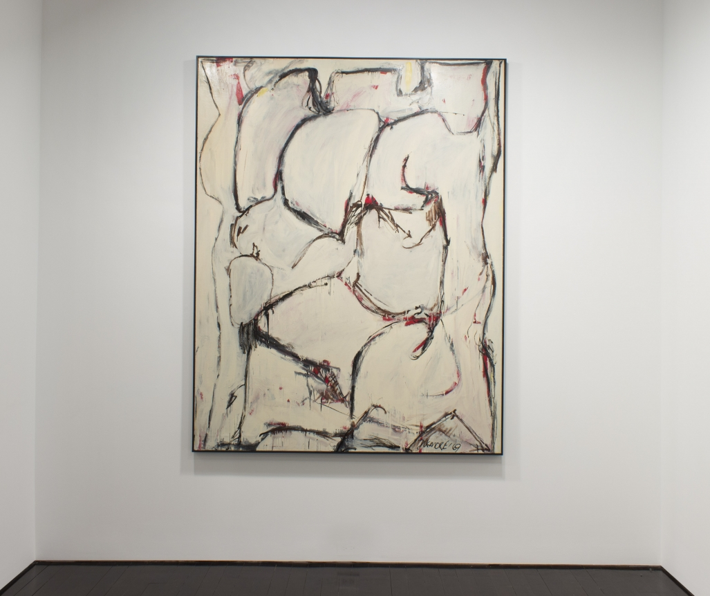 Series X #2, 1969, Oil on Linen