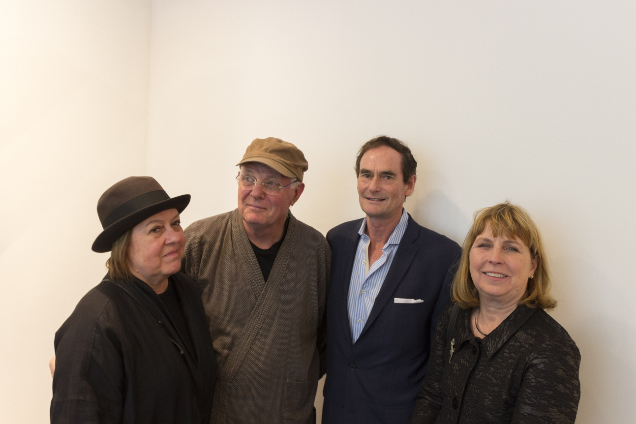 Margrit Lewczuk (Painter), Bill Jensen (Painter), Robert S. Mattison (Art Historian), and Liza Mattison