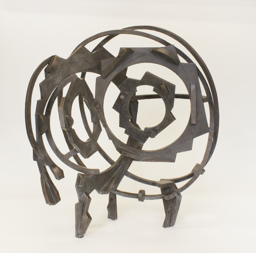metal sculpture joel perlman
