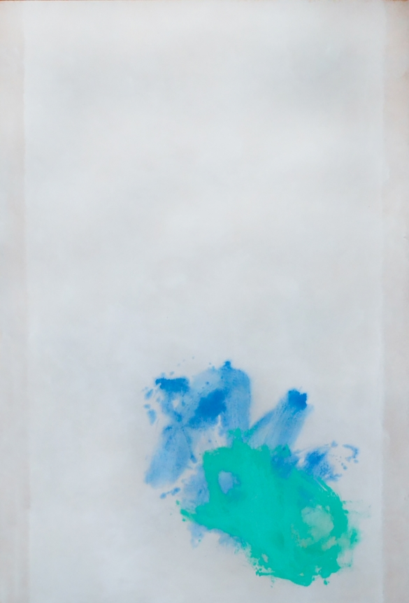 Cleve Gray blue green abstract