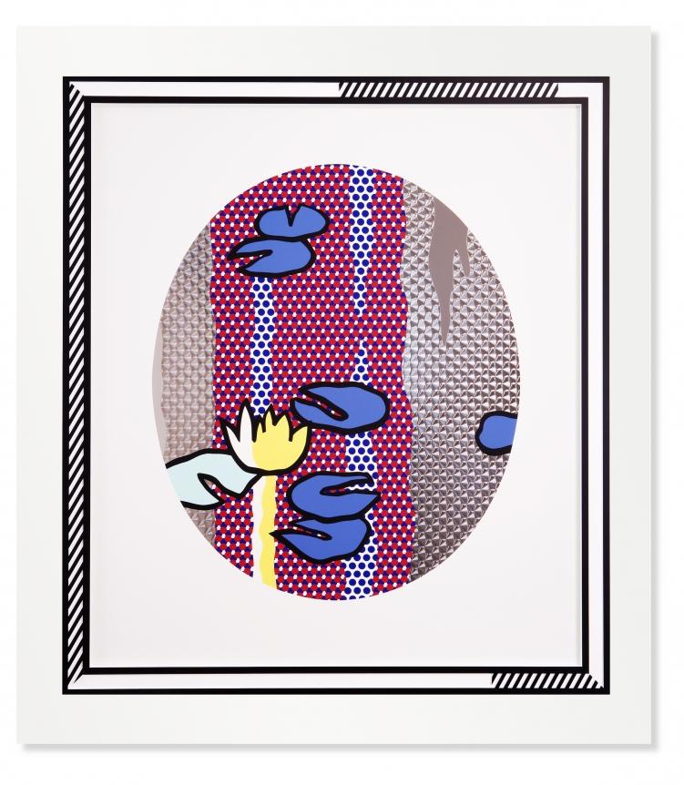 Roy Lichtenstein: Water Lilies