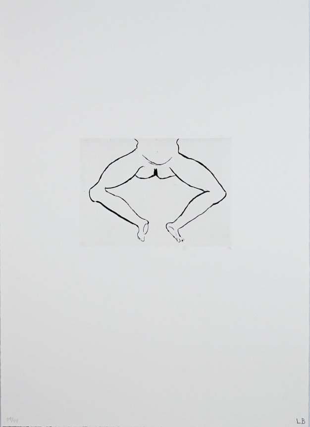 Untitled (Artist's 1993 title: Hanging Figure)