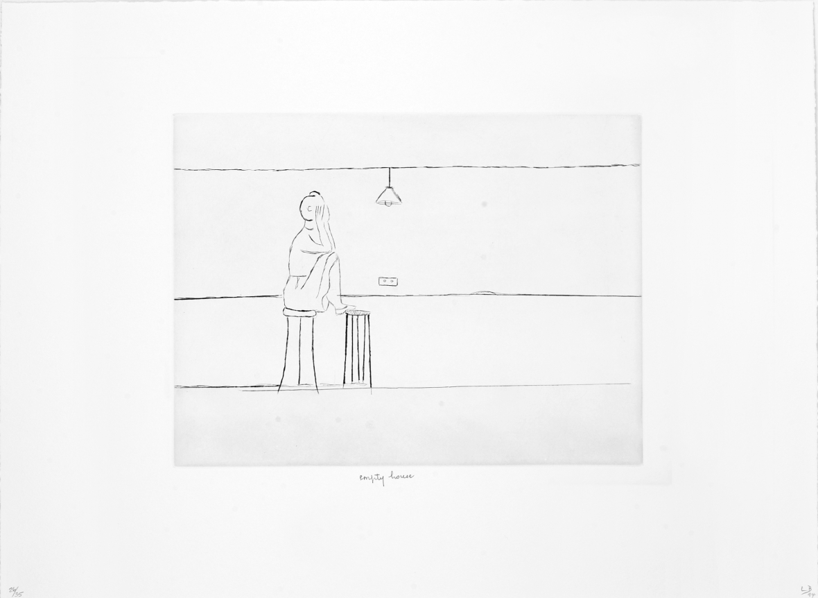 """[6, """"empty house""""] from: Autobiographical Series"""