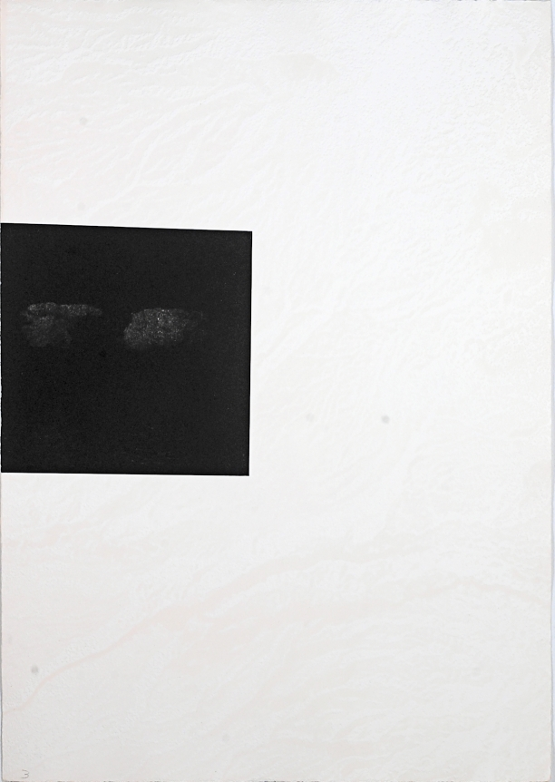 Untitled (Two Clouds) from: White Carrot