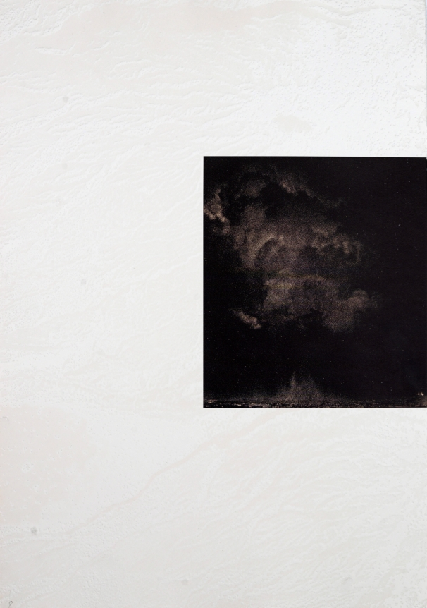 Untitled (Clouds over Paris) from: White Carrot