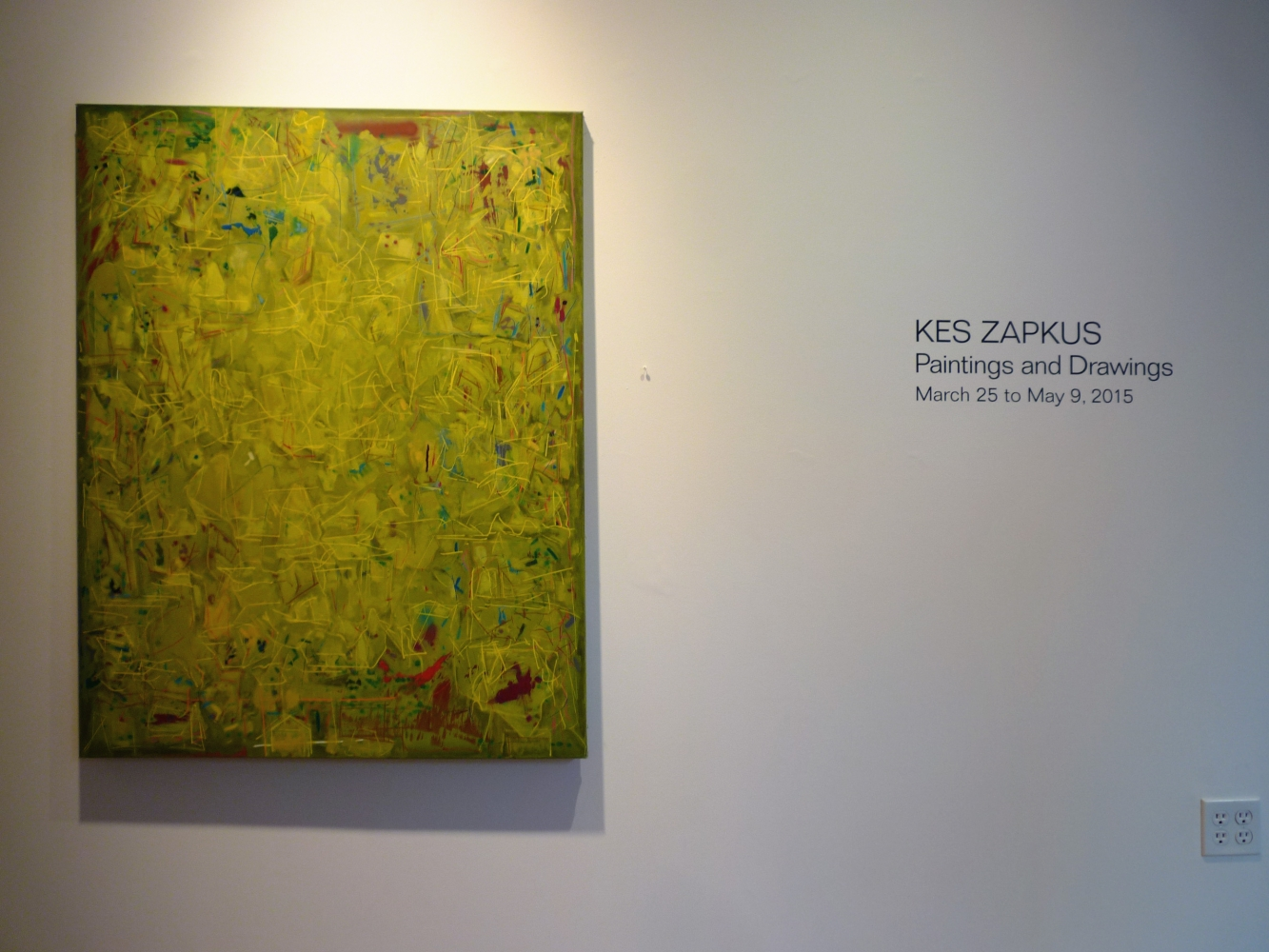 Kes Zapkus: Paintings and Drawings - Exhibitions - William Holman ...