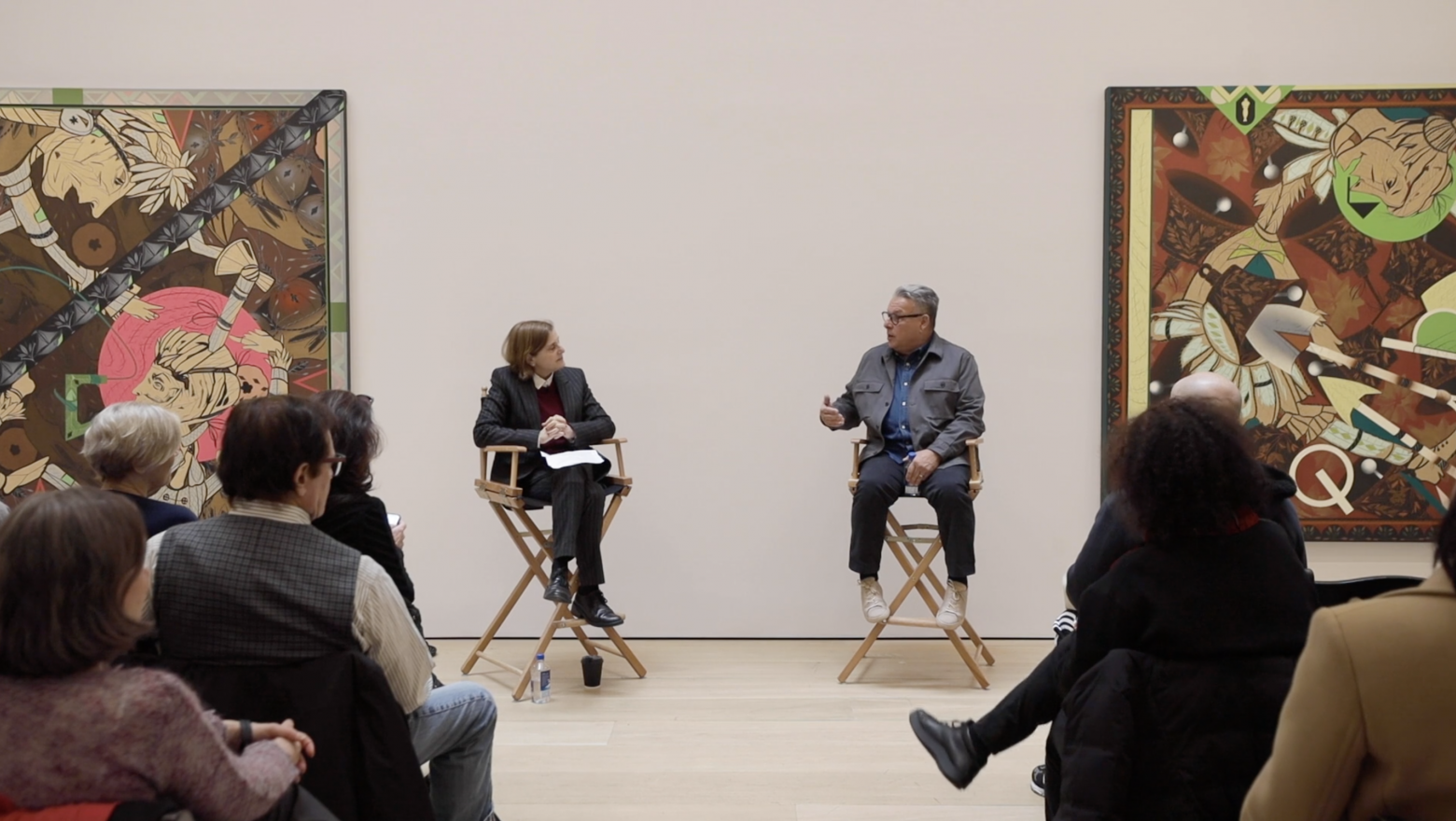 Lari Pittman in Conversation with Laura Hoptman