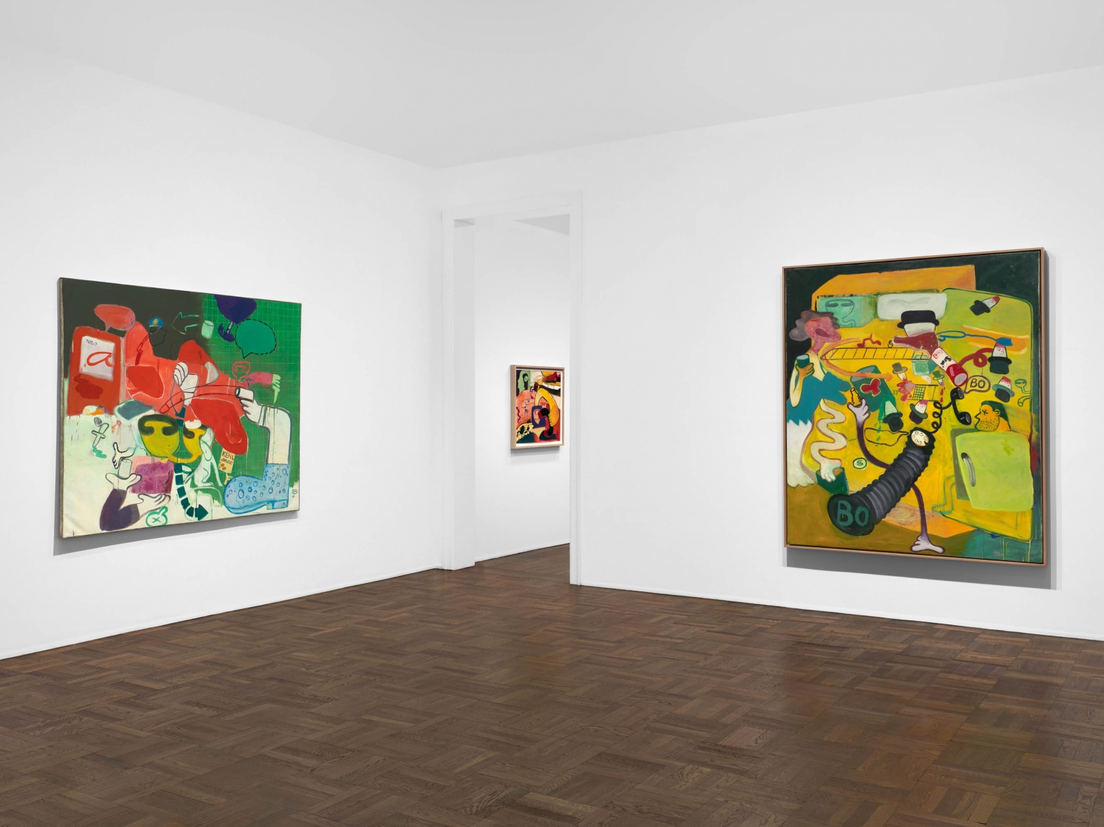 """""""Peter Saul, Murder in the Kitchen, Early Works"""""""