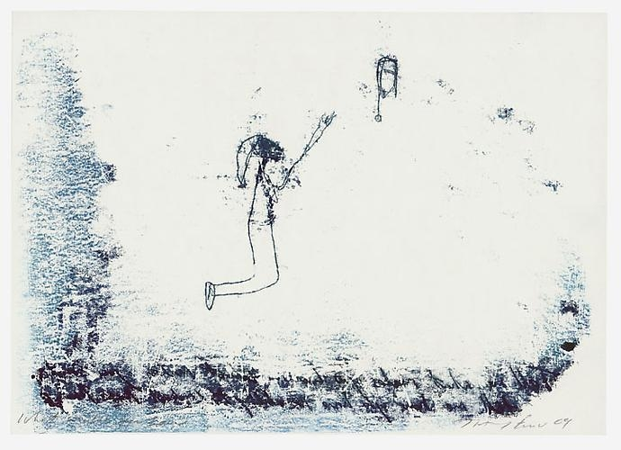 TRACEY EMIN What makes you low, 2009
