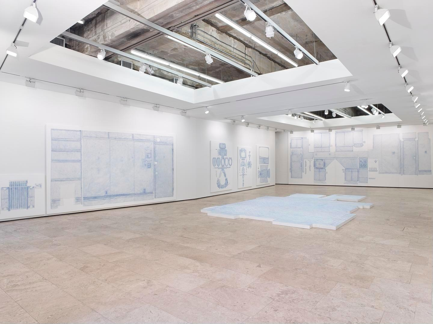 Drawings Installation view 1