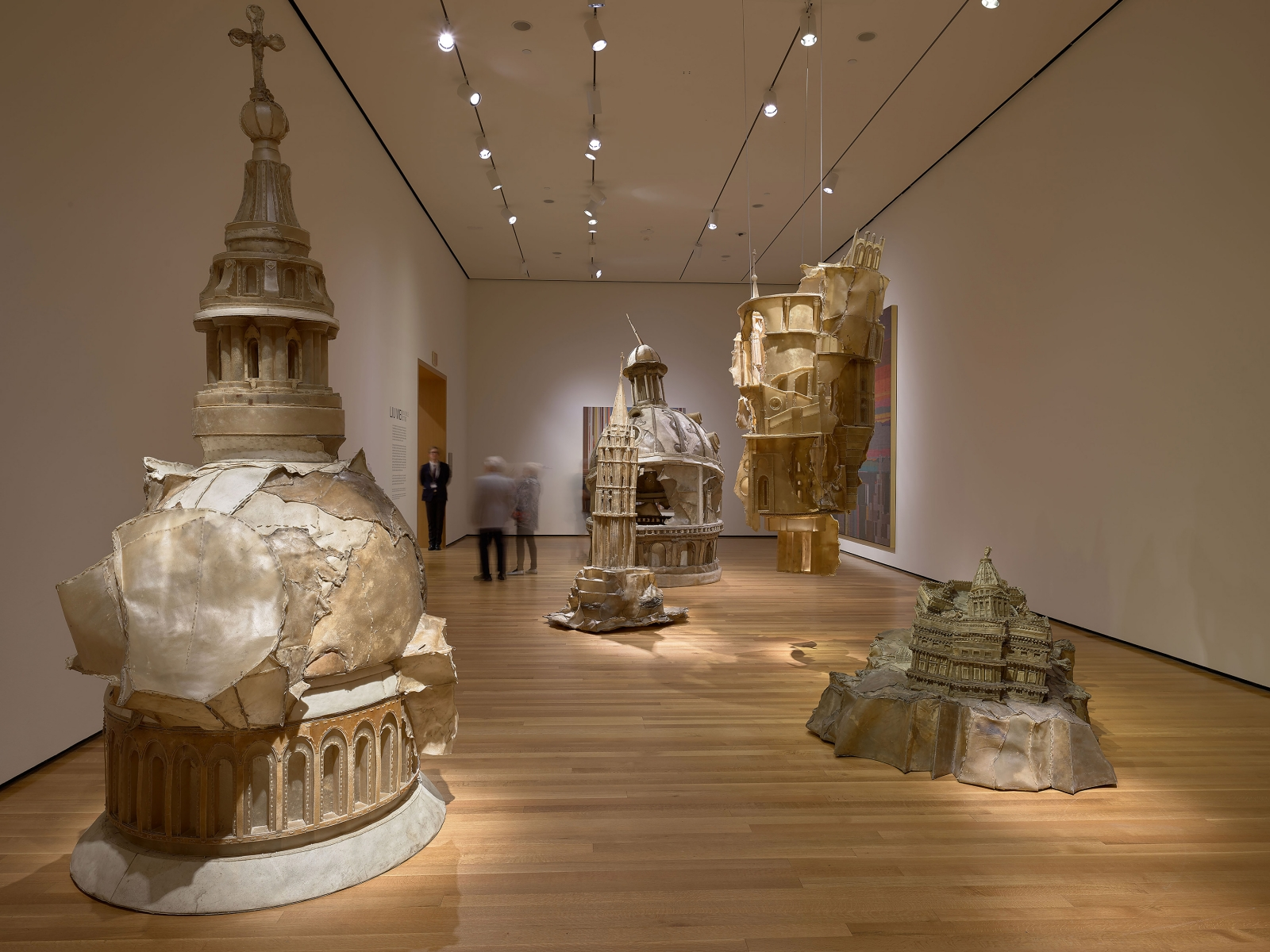 View 3 of Liu Wei's solo museum exhibition titled Invisible Cities at the Cleveland Museum of Art
