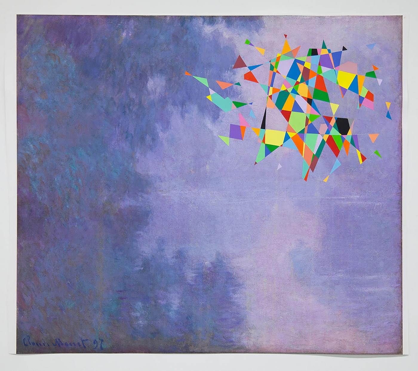 TOM FRIEDMAN, Untitled (Color Monet), 2016