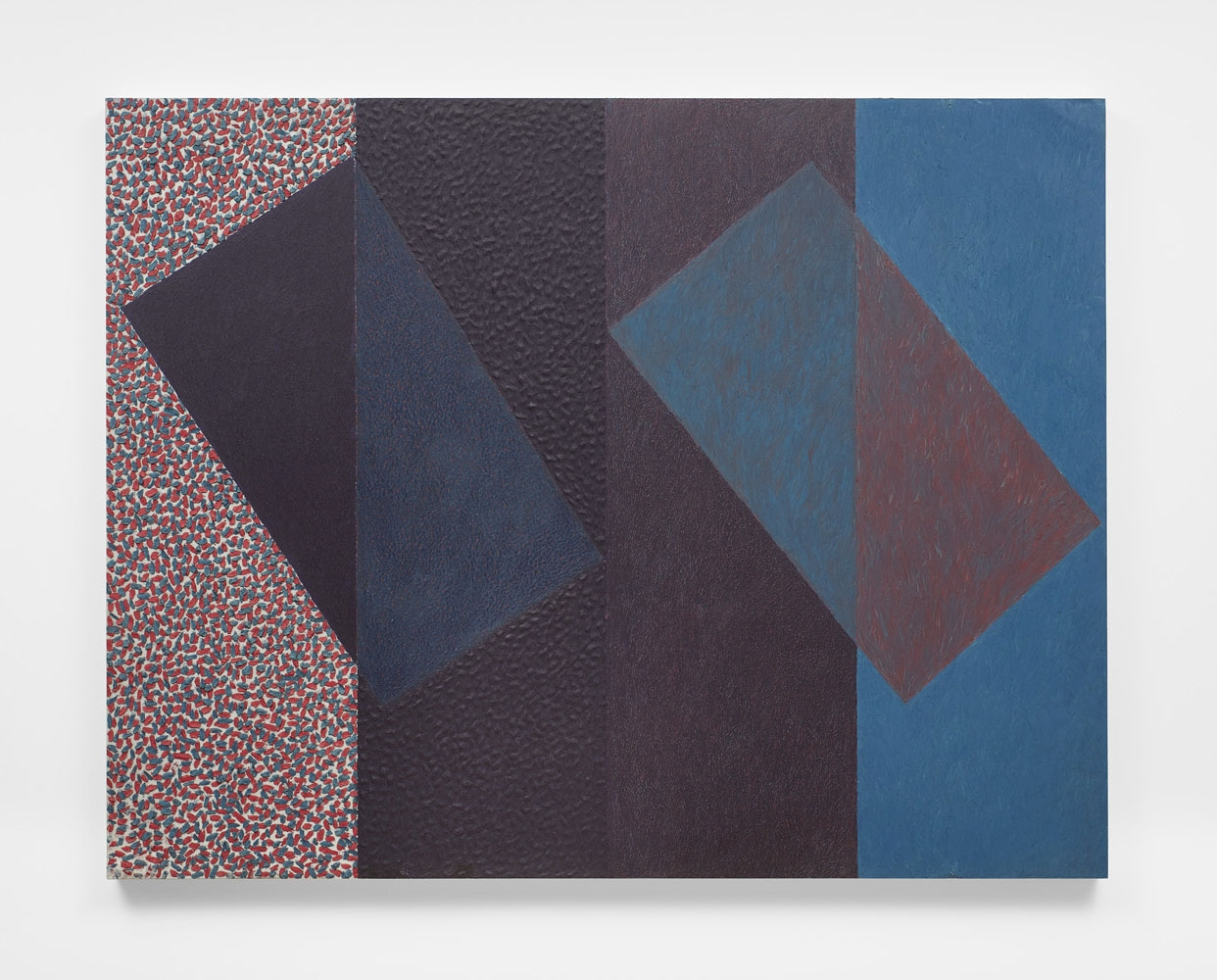 MCARTHUR BINION, Under In: And: Out of Violet, 1978–1979