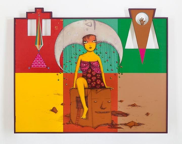 OSGEMEOS A caixa de música (The music box), 2015