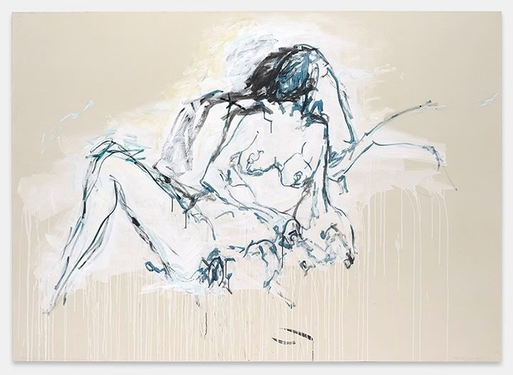 TRACEY EMIN You were here like the ground underneath my feet, 2016