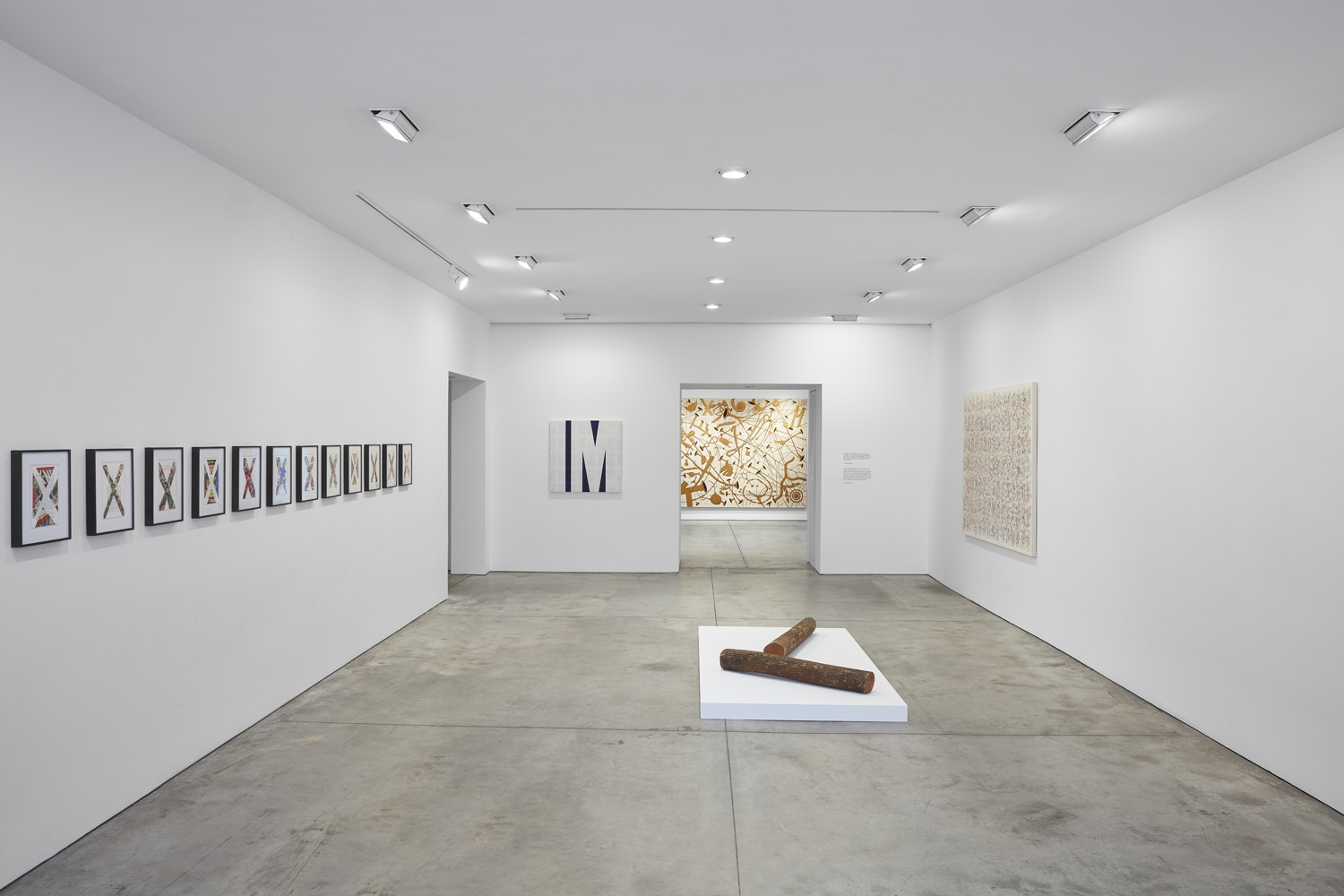 Tim Rollins and K.O.S.,Workshop, Installation view at Lehmann Maupin, New York