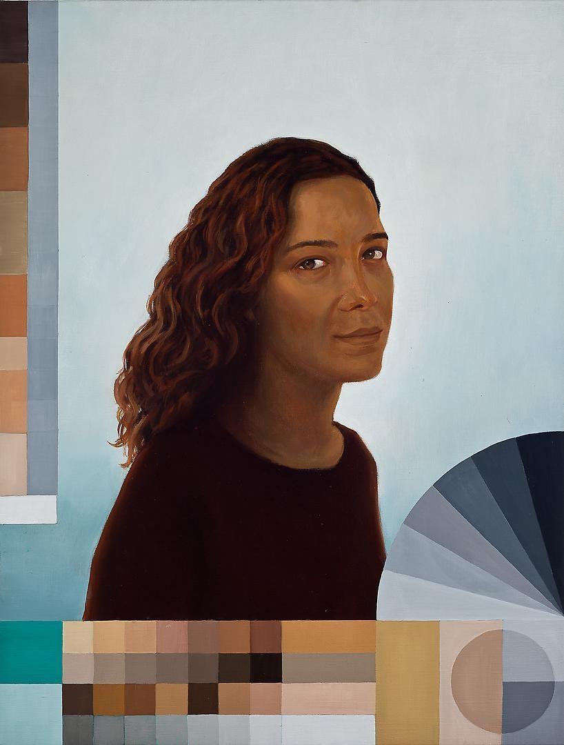 ADRIANA VAREJÃO Polvo Portraits III (Seascape Series) (detail), 2014