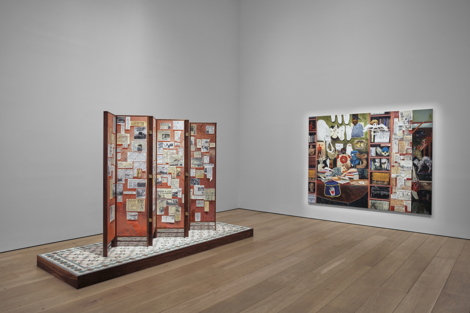 Hernan Bas, TIME LIFE  Installation view 4