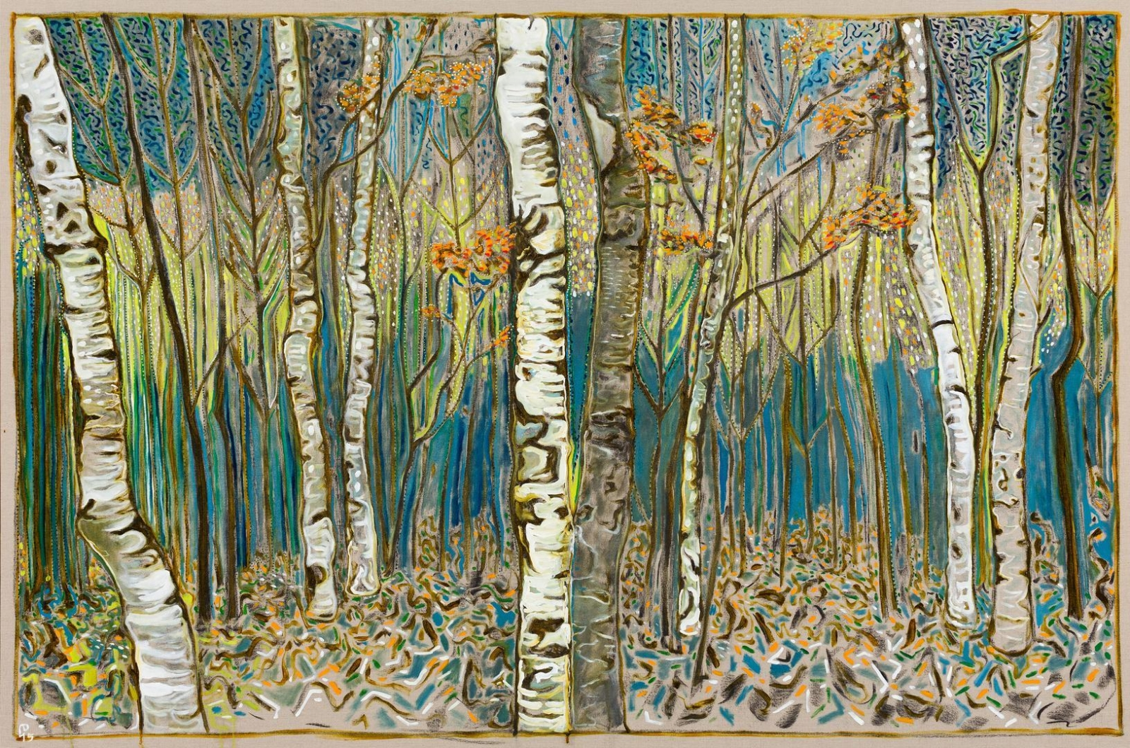 BILLY CHILDISH birch wood, 2015