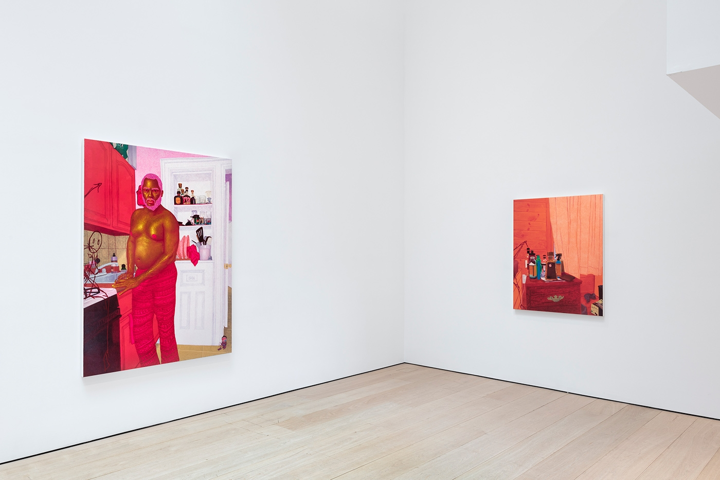 Arcmanoro Niles:Hey Tomorrow, Do You Have Some Room For Me: Failure Is A Part Of Being Alive, Installation view, New York