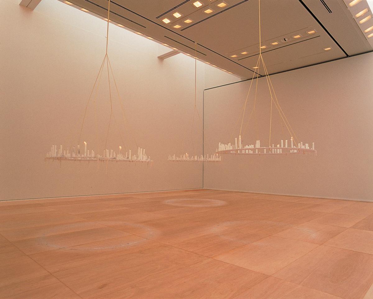 aspire, 1999, Installation view at TOCAG, Tokyo, Japan