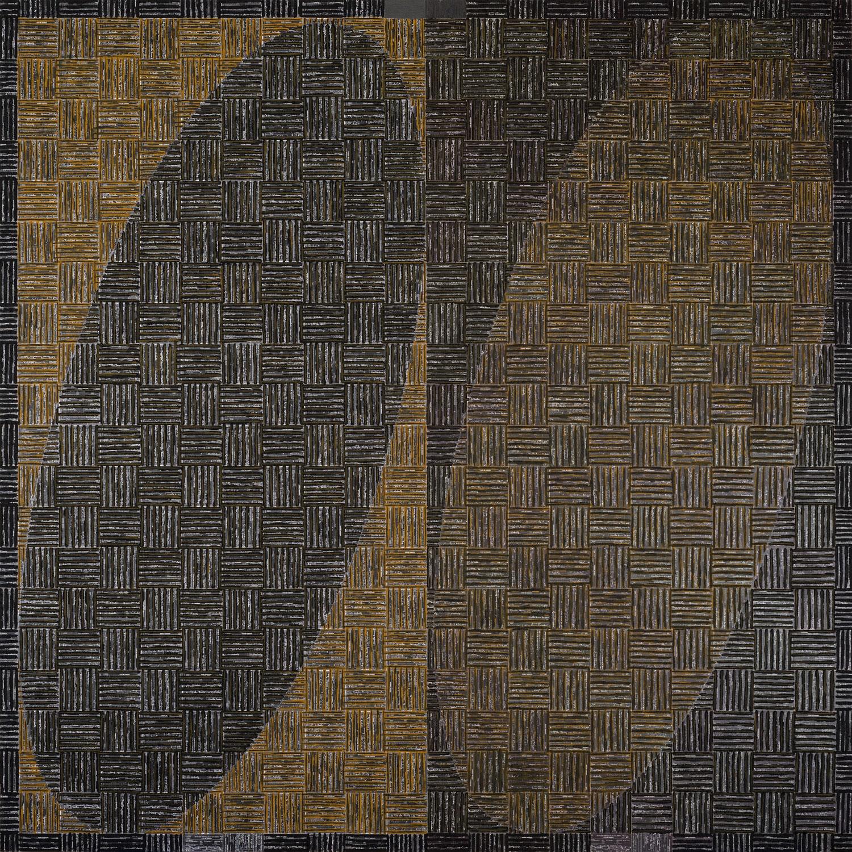 MCARTHUR BINION, DNA: Black Painting: V, 2015