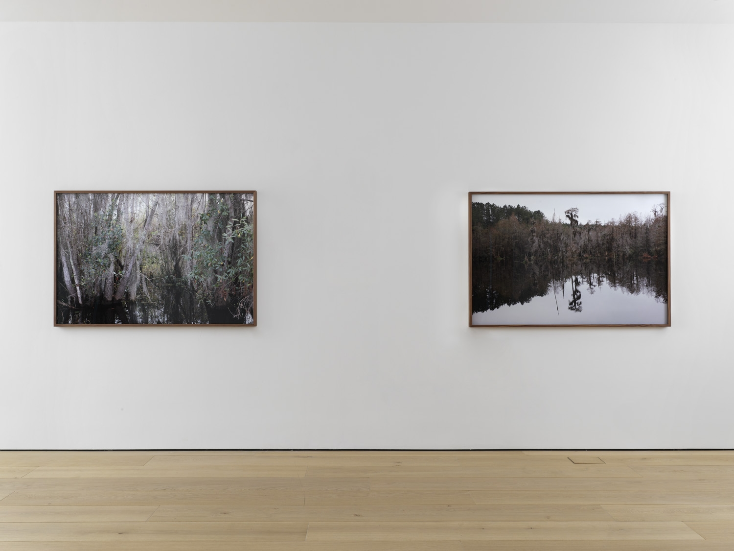 Seventh installation view of the exhibition Catherine Opie: Rhetorical Landscapes at Lehmann Maupin New York