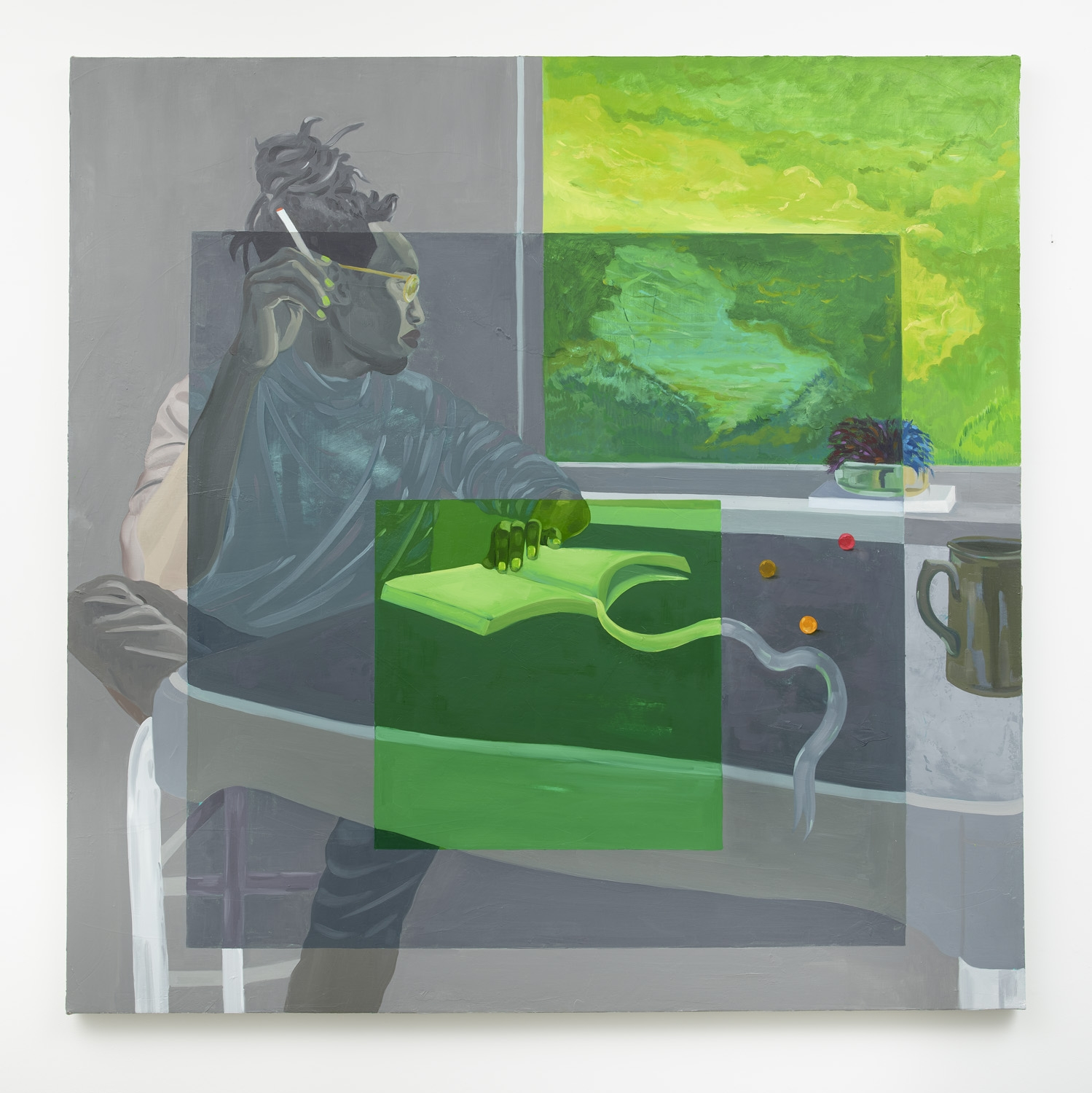 DOMINIC CHAMBERS, After Albers (Africanus), 2021