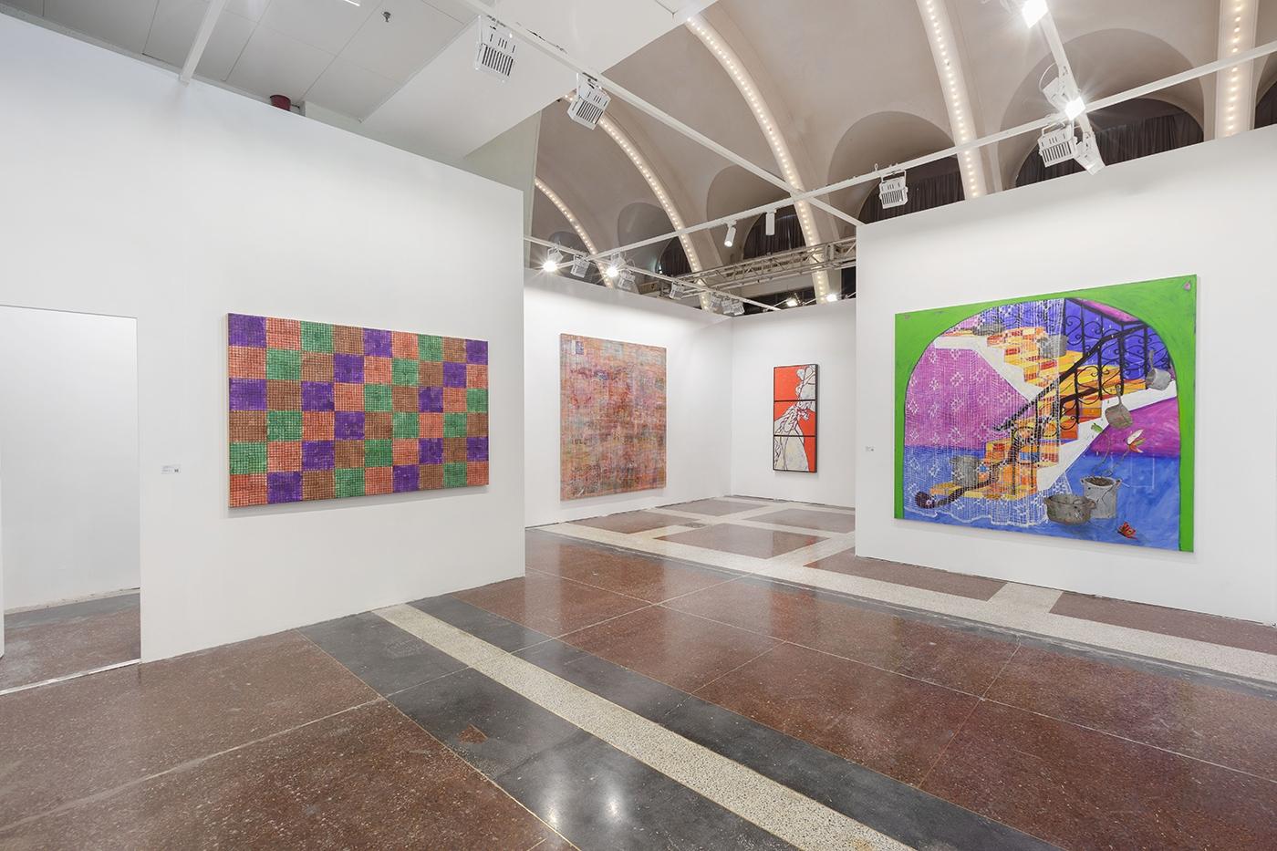 JINGART 2021, Installation view, Lehmann Maupin, Booth A08