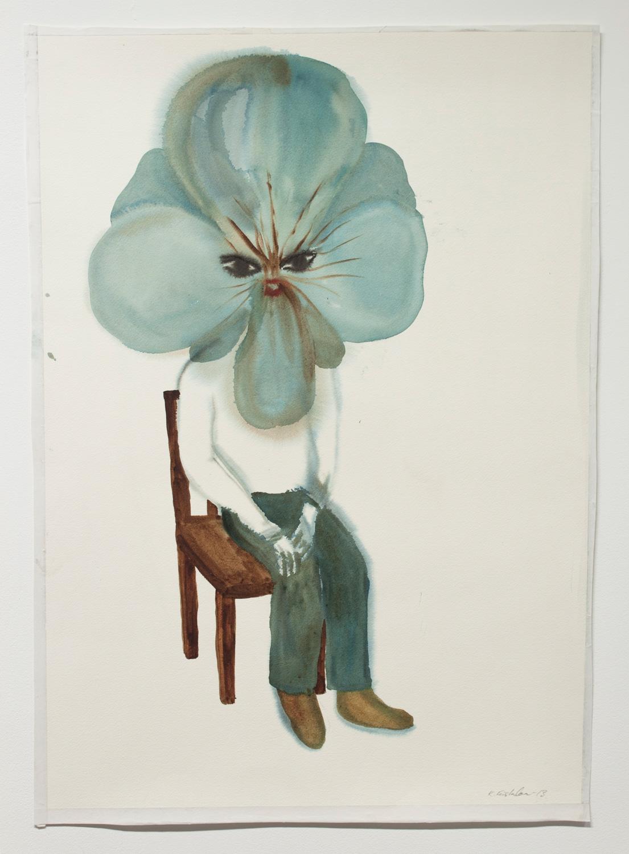 KLARA KRISTALOVA, Portrait of a Young Girl, 2013