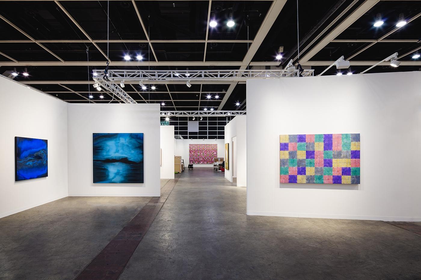 Art Basel Hong Kong 2021, Installation view, Lehmann Maupin, Booth 1D29