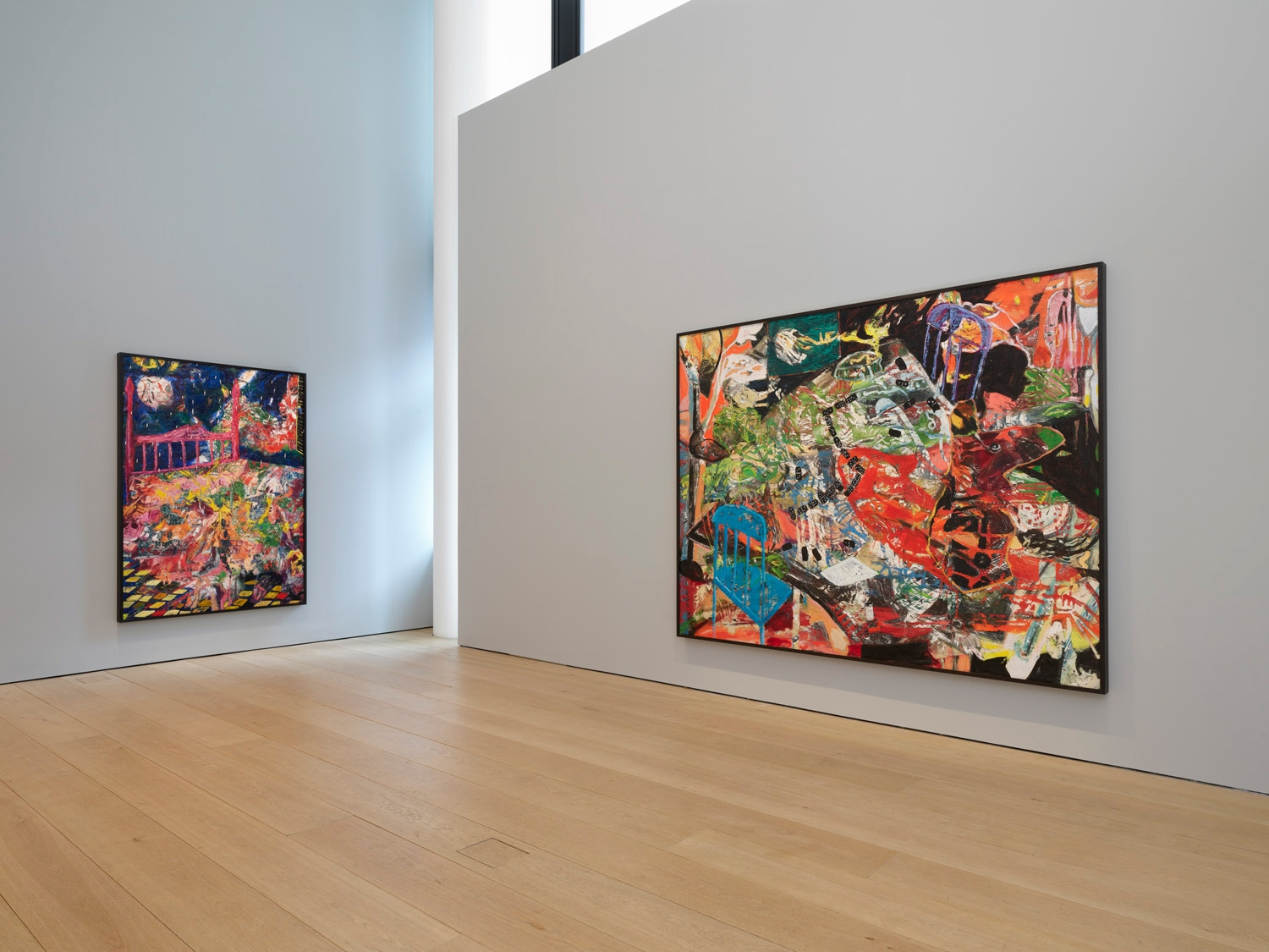 Second installation view of the exhibition Angel Otero: The Fortune of Having Been There at Lehmann Maupin in New York