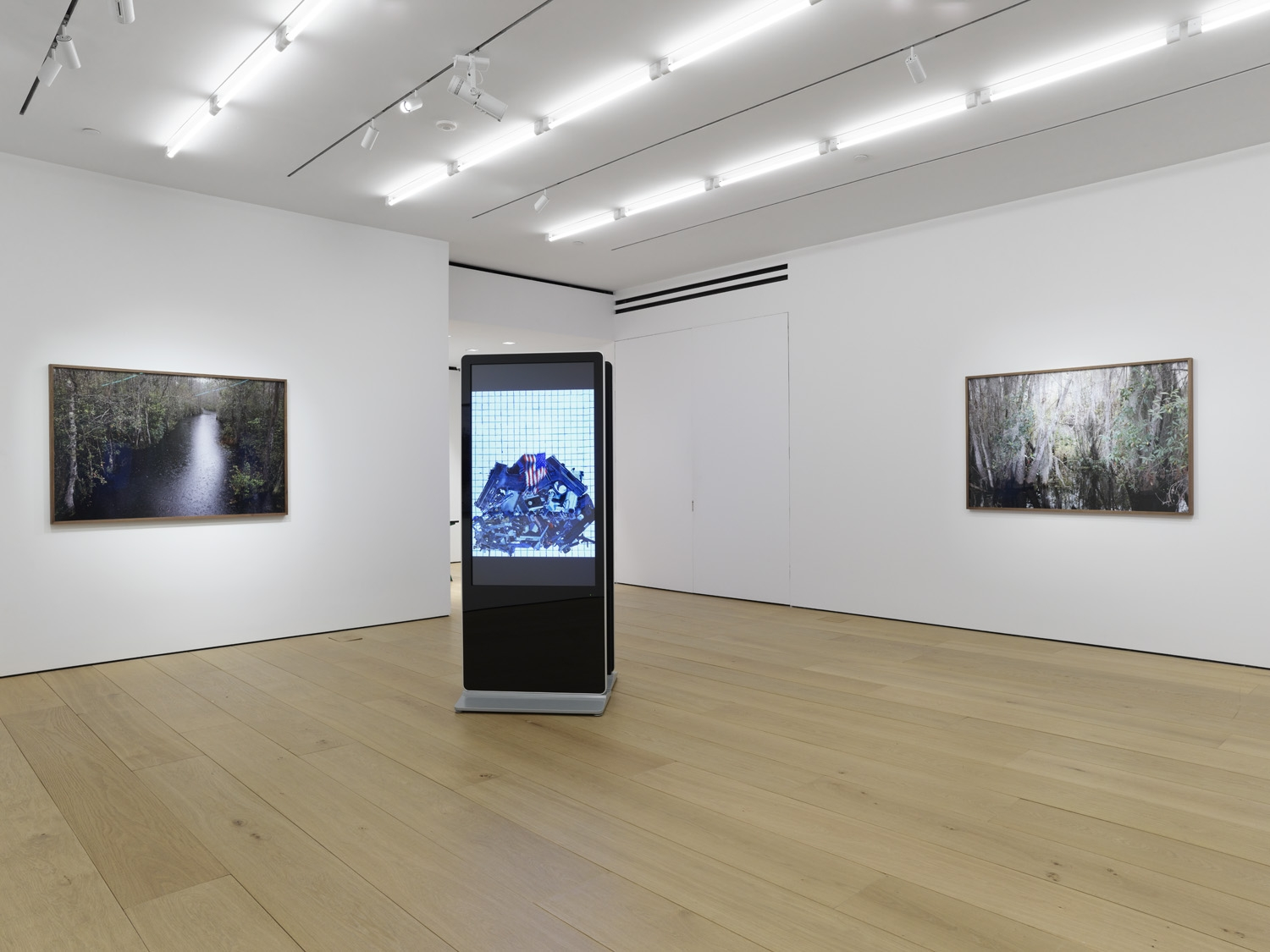 Third installation view of the exhibition Catherine Opie: Rhetorical Landscapes at Lehmann Maupin New York