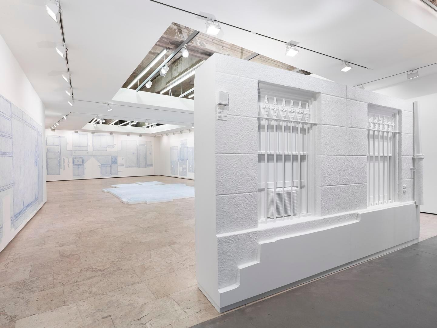 Drawings Installation view 3