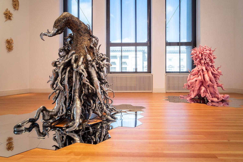 Lee Bul: Crash, Installation view, Martin-Gropius-Bao, Berlin
