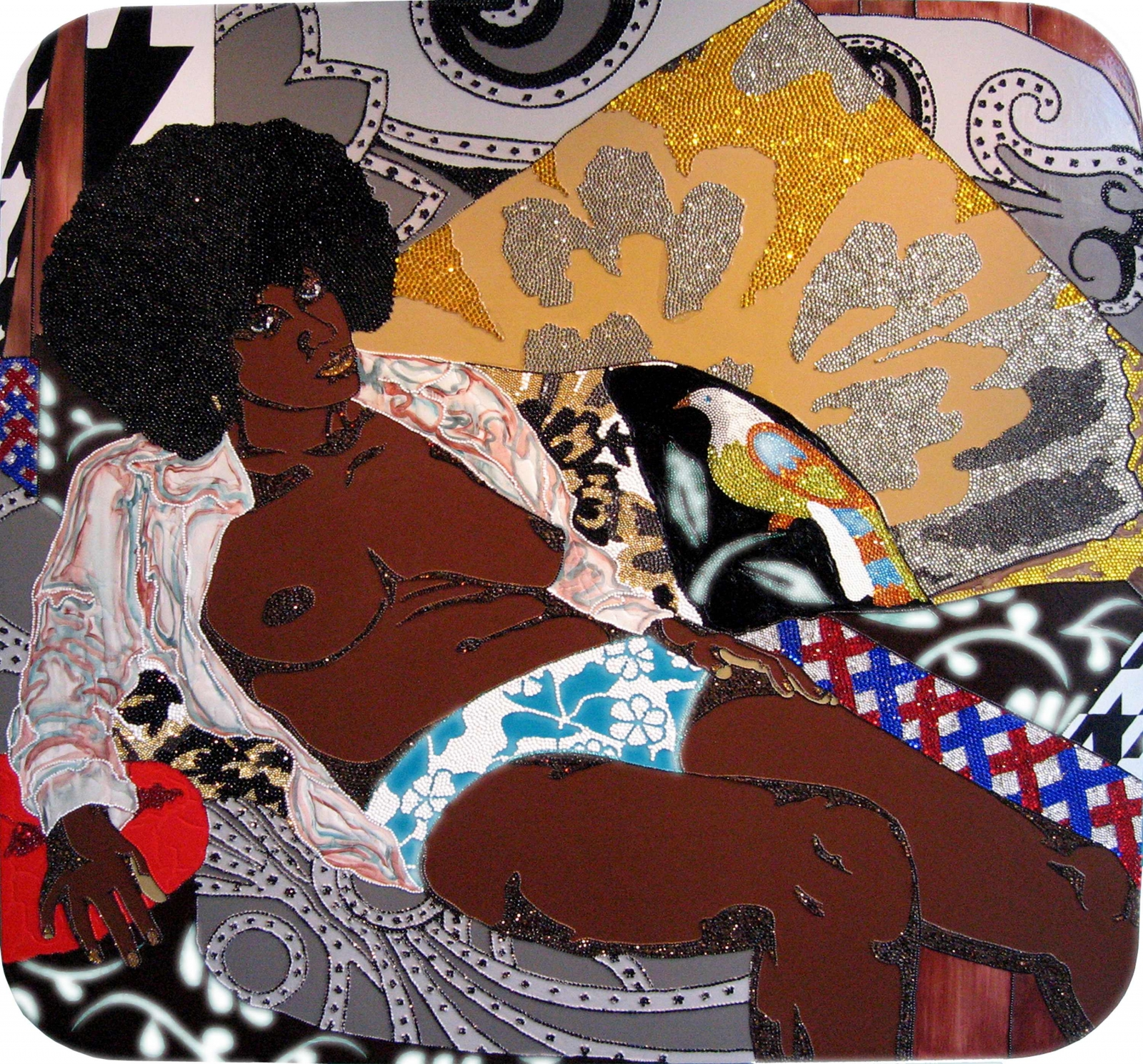 MICKALENE THOMAS, I Can't See You Without Me, 2007