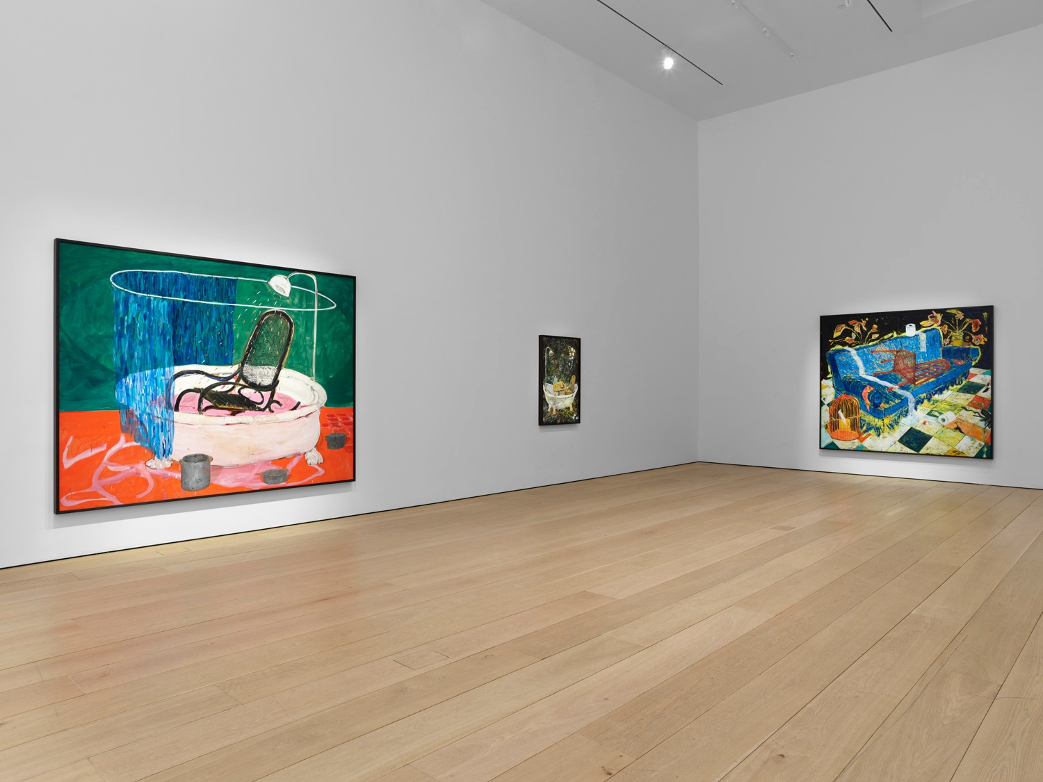 Fifth installation view of the exhibition Angel Otero: The Fortune of Having Been There at Lehmann Maupin in New York