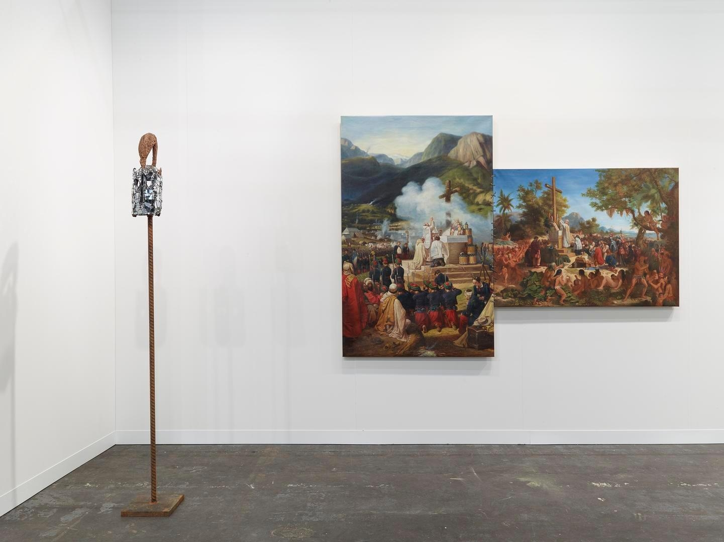Installation view, Booth 1000, The Armory Show 2015