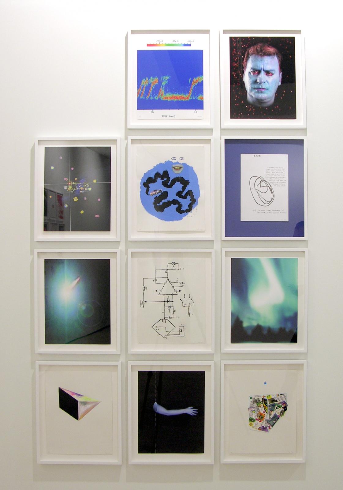 TONY OURSLER, Untitled (Blue), 2005