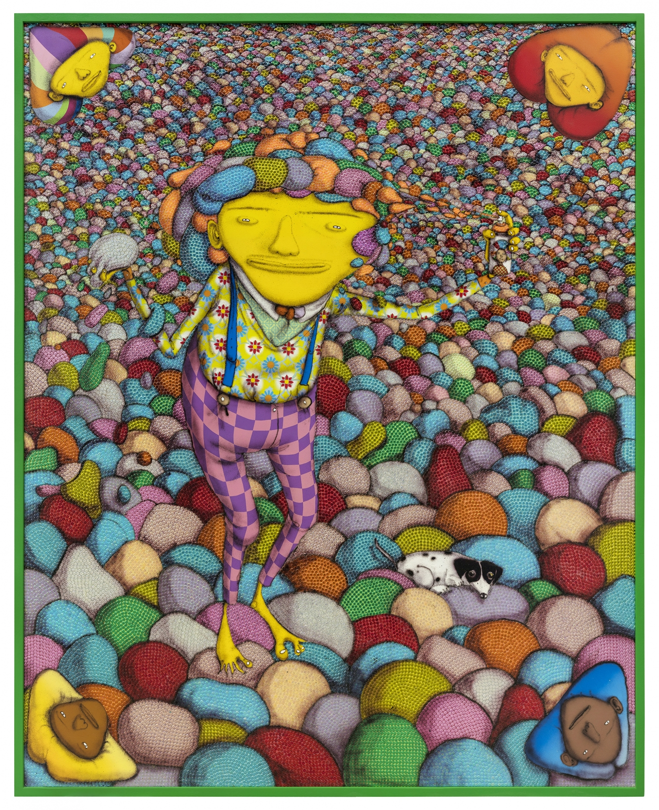 OSGEMEOS, It is never enough, 2018