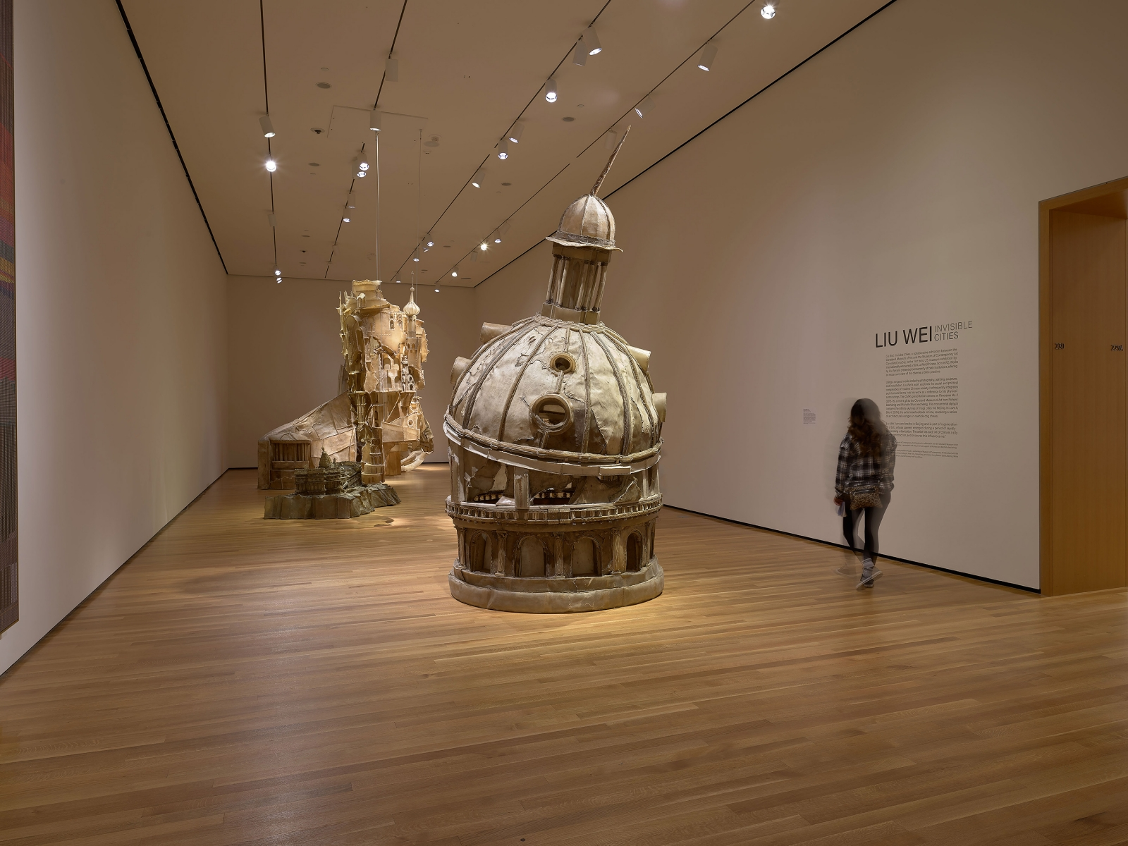 View 6 of Liu Wei's solo museum exhibition titled Invisible Cities at the Cleveland Museum of Art