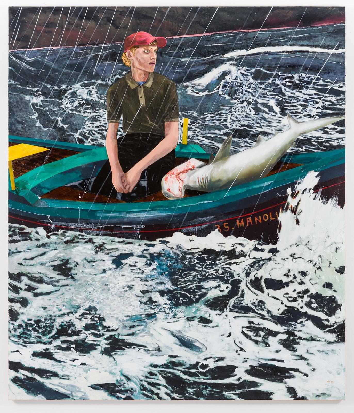 HERNAN BAS, The Young Man & the Sea, 2020