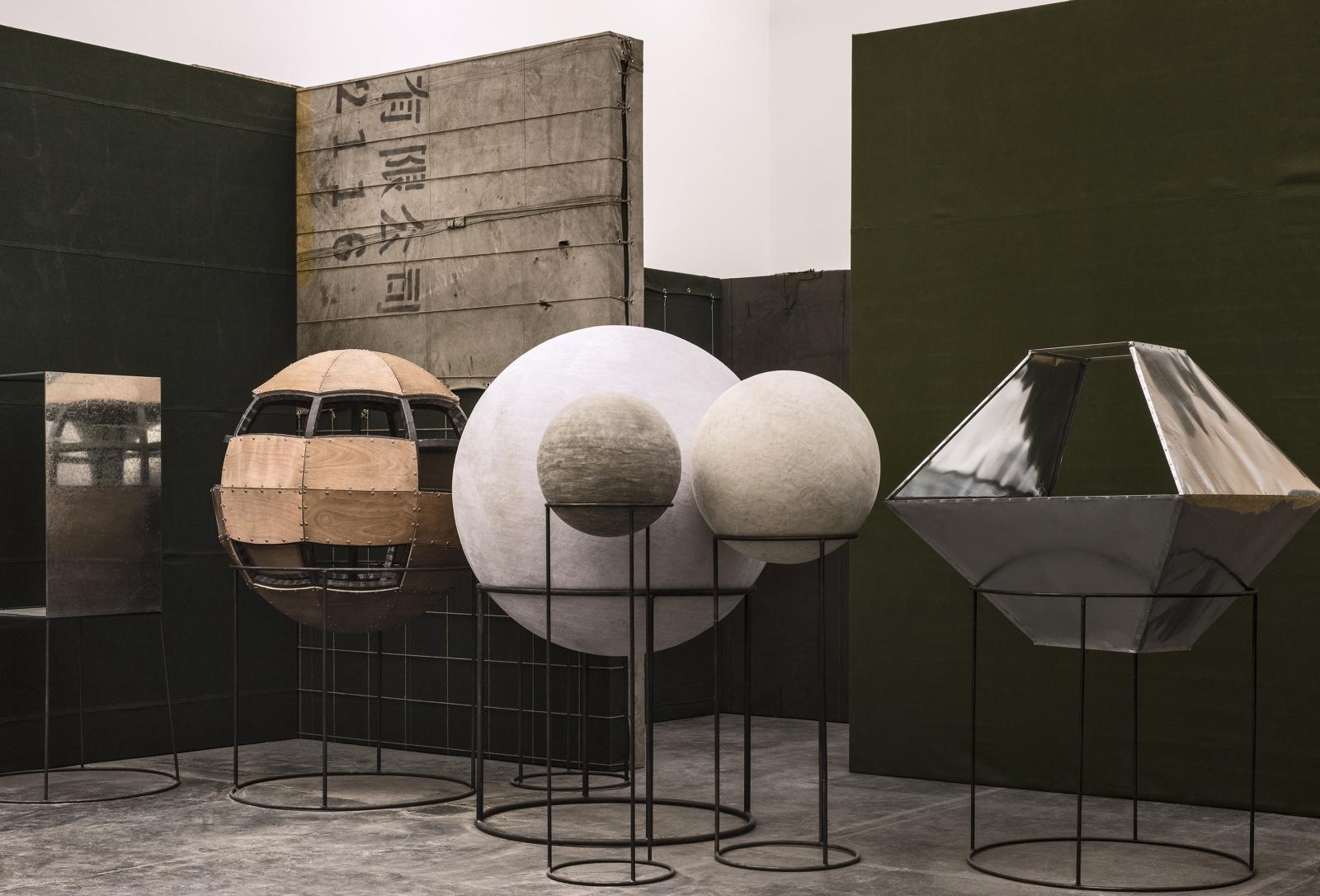 Liu Wei, Colors, Installation view