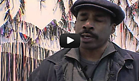 """In this series of three video interivews with the NYCLU during his 2012 exhibition """"Liberty and Orders"""" at Lehmann Maupin Gallery, Ward explains the process and personal experiences—including his own journey as an immigrant navigating the path to citizenship – that informed his work and inspired him to take on the issues of individual rights and constructs of power."""