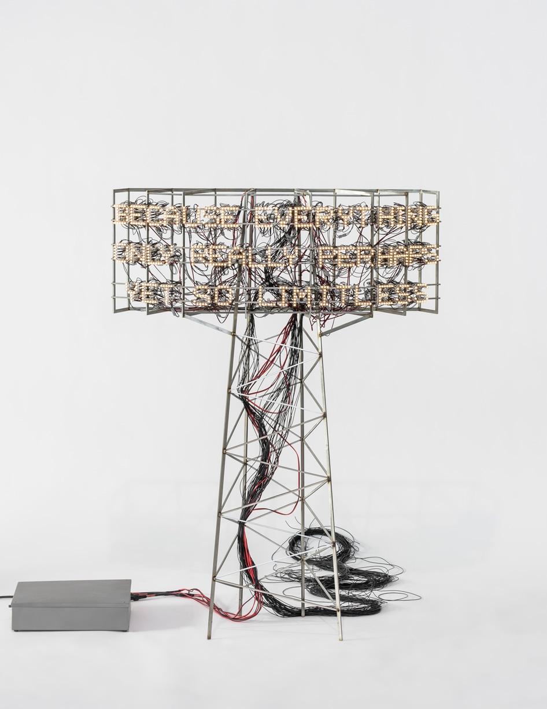 LEE BUL, Study for Light Tower, 2019