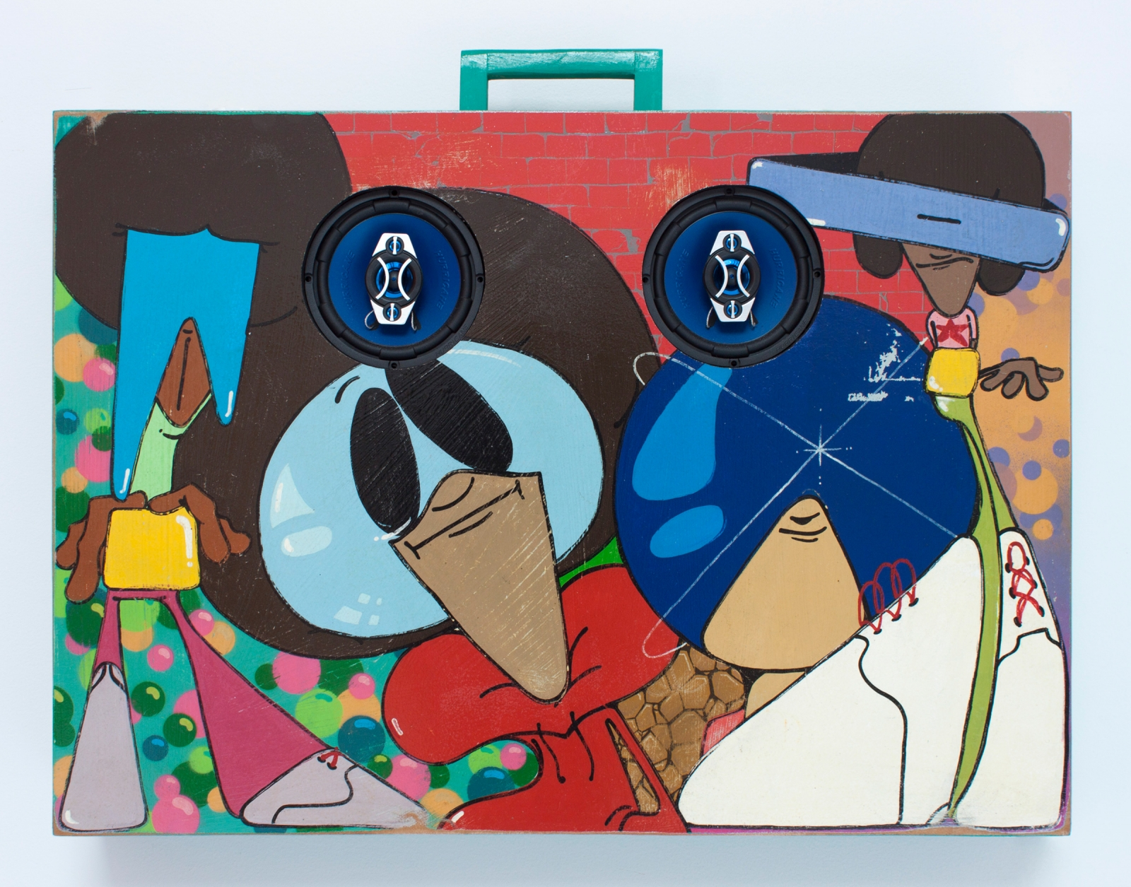 OSGEMEOS, Glass, 2016