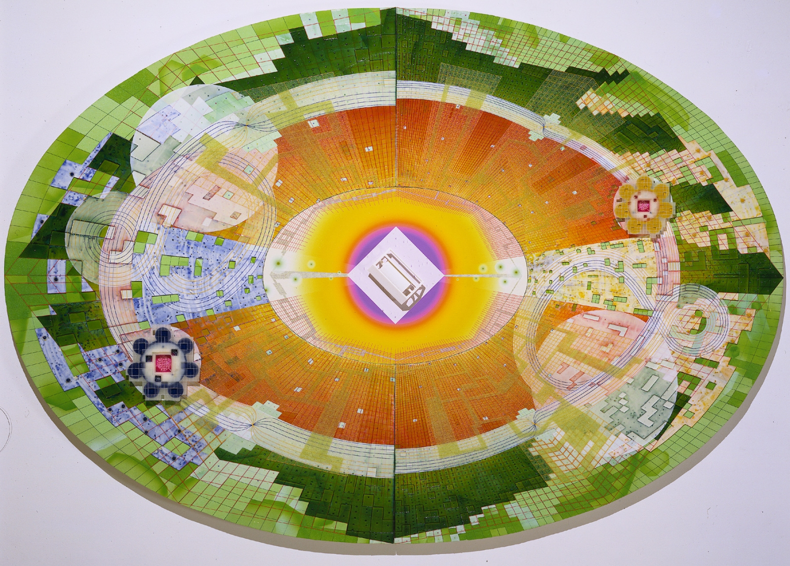 PEDRO BARBEITO, Super Collider: Quark-Gluon, 2000